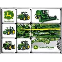 John Deere Mach Ines 9 teiliges Magnet-set