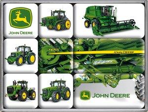 John Deere Magnet (John Deere Machines 9-teiliges Magnet-Set)