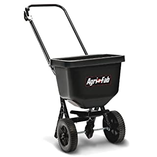 Agri-Fab AG45-0409 50lb Push Type Broadcast Spreader - Black