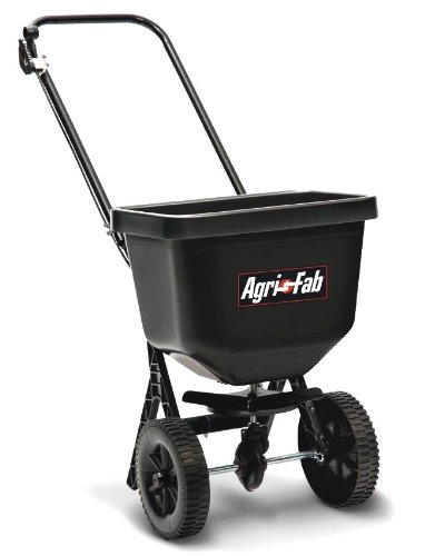 Agri-Fab AG45-0409 Épandeur centrifuge à pousser Noir 23kg