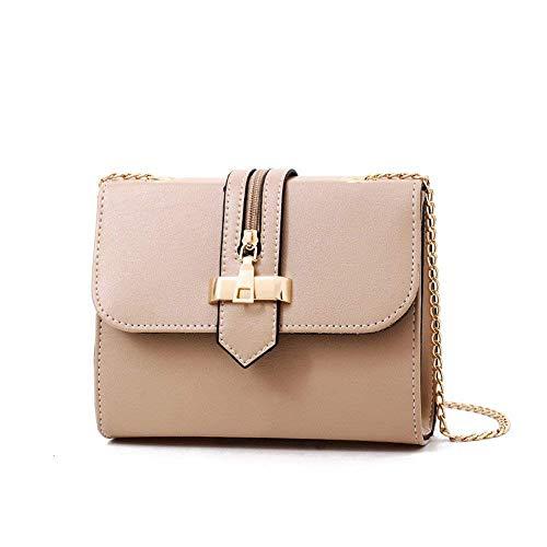 Yisaesa borsa a tracolla nuova borsa a tracolla diagonale borsa a mano rossa (colore : cachi, dimensione : -)