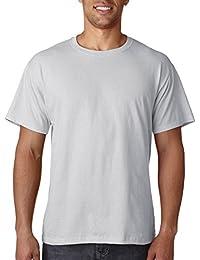 Fruit of the Loom - T-shirt - Homme argenté argent métallique Medium