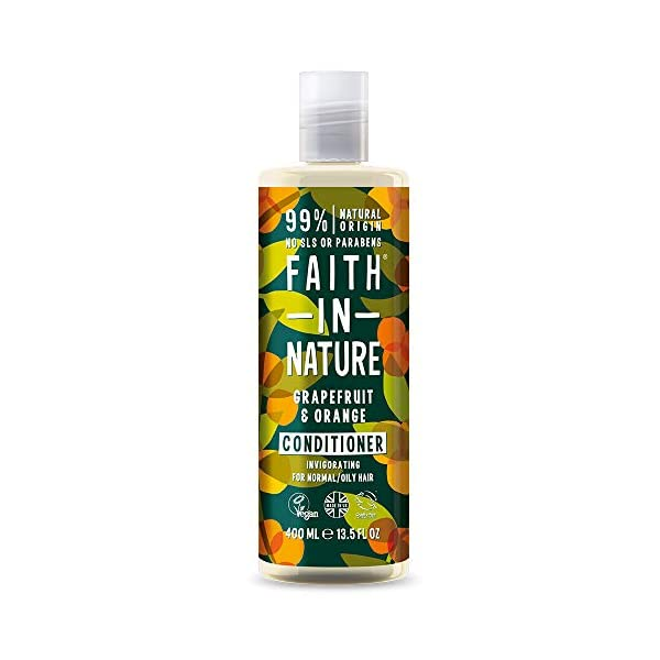 Faith In Nature Grapefruit and Orange Shampoo, Conditioner and Body Wash Trio | Vegan | Cruelty Free | 99% Natural Fragrance | Free From SLS or Parabens 3