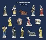 Santon de provence, fèves spécial galette des rois X100 pièces