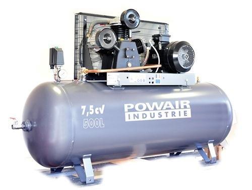 Compresseur PRODIF courroie tri-cylindre 500 litres WCF050500300