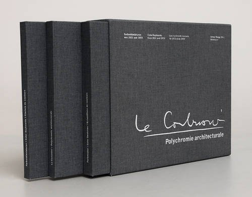 Polychromie architecturale: Le Corbusiers Farbenklaviaturen von 1931 und 1959 / Le Corbusier's Color Keyboards from 1931 and 1959 / Les Claviers de couleurs de Le Corbusier de 1931 et de 1959 Buch-Cover
