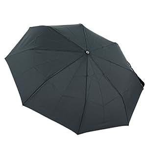 Samsonite Wood Classic 5 Sect Auto O/C Short Parapluie Pliant, 27 cm, Noir