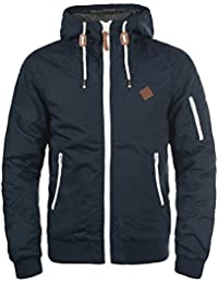 SOLID Tilly Herren Übergangsjacke Jacke mit Kapuze aus robustem und hochwertigen Material