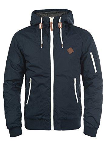 !Solid Tilly Herren Übergangsjacke Herrenjacke Jacke mit Kapuze, Größe:L, Farbe:Insignia Blue (1991)