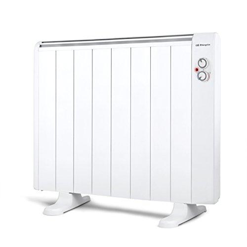 Orbegozo RRM 1510 - Emisor térmico sin aceite, 8 elementos, 1500 W, 2 niveles de potencia, color blanco...