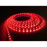 Riflection Decorative Self Adhesive 5 Metre Led Strip Light (Red Colored Light) LowPrice Festival Decoration Light LED With Driver.