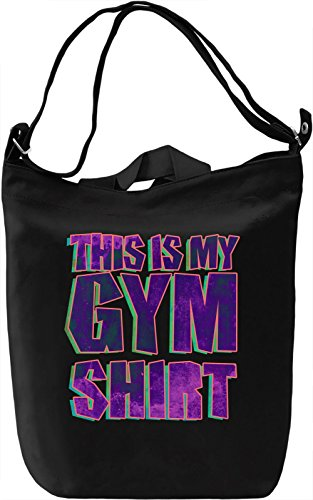 This Is My Gym Shirt Leinwand Tagestasche Canvas Day Bag| 100% Premium Cotton Canvas| DTG Printing| (T-shirt Life Street)