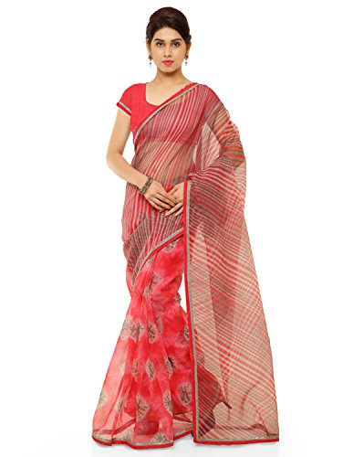 Sheknows Cotton Saree (Pthsr3811Dul_Pink)