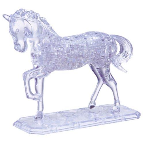 Imagen 2 de HCM Kinzel 9001 - Puzzle de cristal en 3D diseño Caballo [Importado de Alemania]