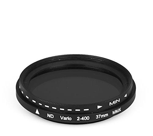 dHD DIGITAL Marken Variabler Fader ND2 - ND400 Filter 37mm Graufilter 37 mm