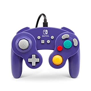 Wired Controller for Nintendo Switch - GameCube Style: Purple (Nintendo Switch)