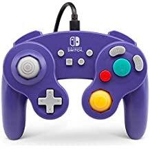 PowerA NSW GameCube Wired Controller Purple