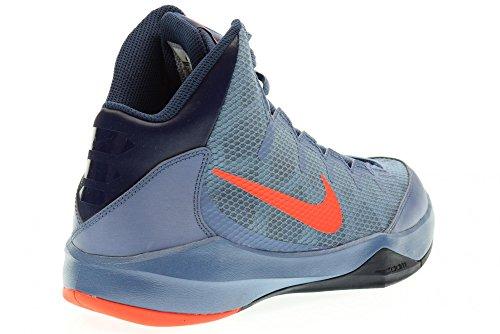 Nike  Zoom Without A Doubt, espadrilles de basket-ball homme Bleu / rouge / gris (brouillard marin / pourpre vif -bleu marine minuit - obsidienne)