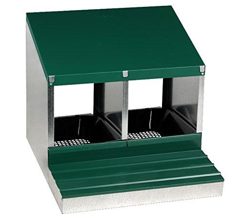 Shorefields Gaun Laying Rollaway Metal Nest Box (Single) 1
