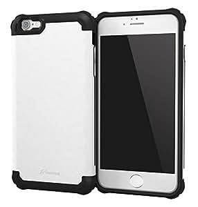 iPhone 6s Plus Case, roocase [Exec Tough PRO] iPhone 6s Plus Slim Fit Case Hybrid PC / TPU [Corner Protection] Armor Cover Case for Apple iPhone 6 Plus / 6s Plus (2015), Arctic White