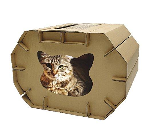 Croci Maison Griffoir en Carton 50 x 38 x 35 cm