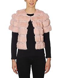 Amazon.it  pelliccia donna - Liu Jo Jeans  Abbigliamento faf97a7d98f