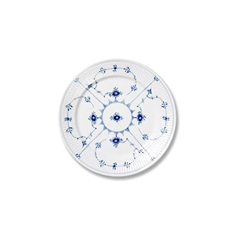 Royal Copenhagen Blue Fluted Plain Bread Butter Plate by Royal Copenhagen