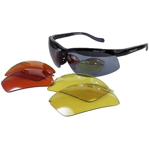 POLARLENS PS6 occhiali da sole / ciclismo occhiali da sole / disponibili in una custodia imbottita !
