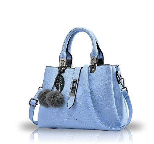Ruiren Womens Shopper Shoulder Bag Packet Messenger Bag Ladies Handbag Borsa Femminile Borse per le Donne Blu