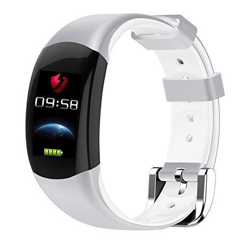 Altsommer Smart Watch für Xiaomi 0,96-Zoll-HD-Vollfarb-Bildschirm mit IP68Wasserdicht,Bluetooth Aktivitäts-Tracker Notifier für Getränke Sesshaft Schlafüberwachung für Android iOS (Weiß) (Fitness-tracker Schwimmer)