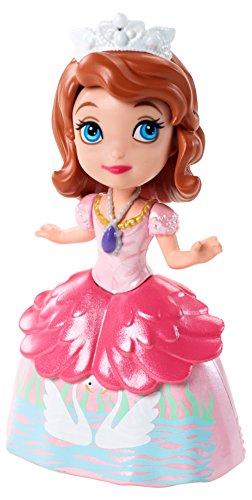 Mattel CJB76 - Disney - Sofia die Erste - 9 cm Spielfigur - Prinzessin Sofia im Tea Party Outfit [UK Import]