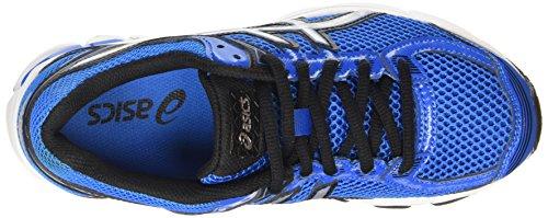 Asics Gt-1000 4 Gs, Chaussures de Running Compétition mixte enfant Bleu (electric Blue/silver/black 3993)