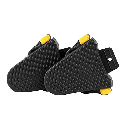 JINXL PS-R02 Rennrad Pedal Cleats Covers Quick Release Gummi Cleat Abdeckung for Shimano SPD-SL Cle Zubehörteile -