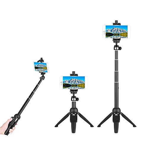 Zantec Stick Portatile Wireless Bluetooth Selfie YunTeng YT-9928 Multifunzione Selfie Stick treppiede con otturatore remoto Bluetooth