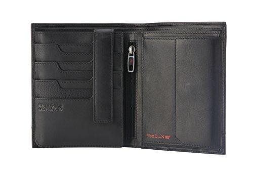 Billfold Coin Wallet (Samsonite - Prod-DLX 4S RFID Billfold 8CC+2COMP 11CC+HFL+W+C+Zip+2C Münzbörse, 14 cm, Black)