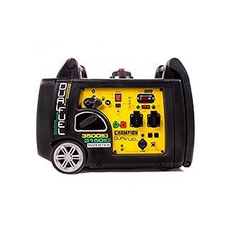 Champion Dual Fuel Inverter Groupe électrogène essence 3150W gaz 3500W UE avec démarreur électronique