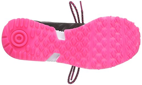 adidas Originals Racer Lite, Low-Top Sneaker femme noir (Core Black/Core Black/Shock Pink S16)
