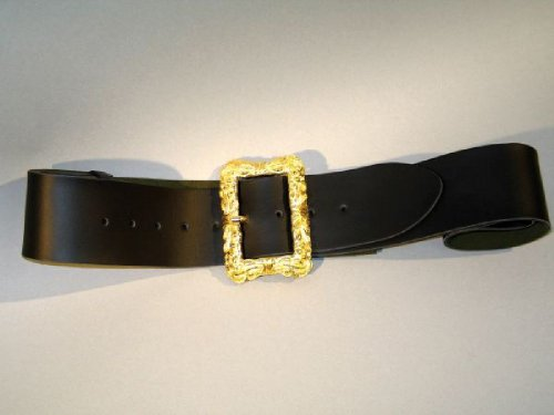 schwarzer Gürtel, , ca. 130 cm, Prachtschließe