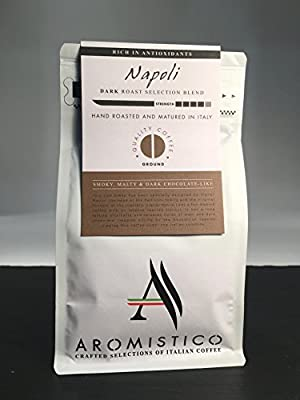 AROMISTICO COFFEE Napoli Selection Blend - GROUND from Arca S.r.l