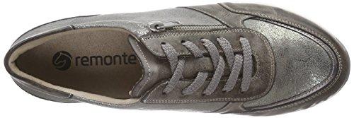 Remonte Damen D1800 Sneakers Silber (cigar/altsilber/antique/25)