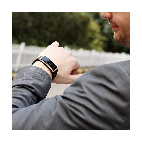 S1 CUBOT Smart tracker pulsera Bluetooth 4.0 impermeable pantalla táctil OLED podómetro rastreador inalámbrico actividad pulsera Smart all-weather Heart Rate Monitor de sueño, Recordatorio de Llamada 6