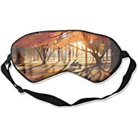 Autumn Trees Forest Motorcycle Leaves Art Sleep Eyes Masks - Comfortable Sleeping Mask Eye Cover For Travelling... preisvergleich bei billige-tabletten.eu