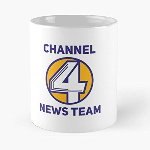 Anchorman Channel 4 News Team Ron Burgundy - Best Gift Mugs Brick Mug Coffee For Gifts Cup Women Tumbler Cups Best Personalized Gifts Burgundy Heat