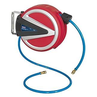 Sealey SA811 – Retráctil carrete de manguera de aire identificación del tubo de la pu, 6,5 m x 6,5 mm