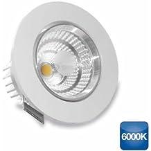 Aro empotrable de led redondo basculante 9W 810lm 6000K GSC 0702142