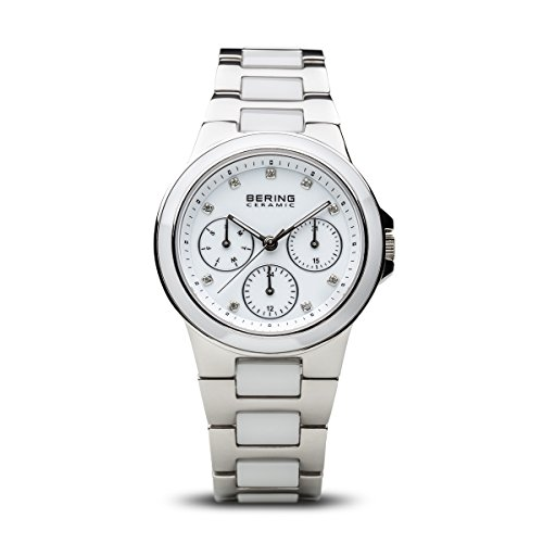 BERING Damen-Armbanduhr Analog Quarz Edelstahl 32237-754