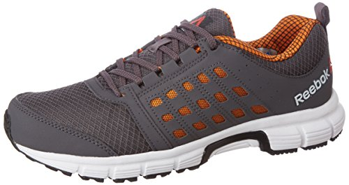 Reebok Men's Cruise Ride Ash Grey, Nacho, Wht and Blk Running Shoes - 9 UK/India (43 EU) (10 US)