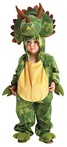 Kostüm Kinder Triceratops Kapuzenoverall Kinderkostüm Dino (Triceratops Erwachsene Kostüm Für)