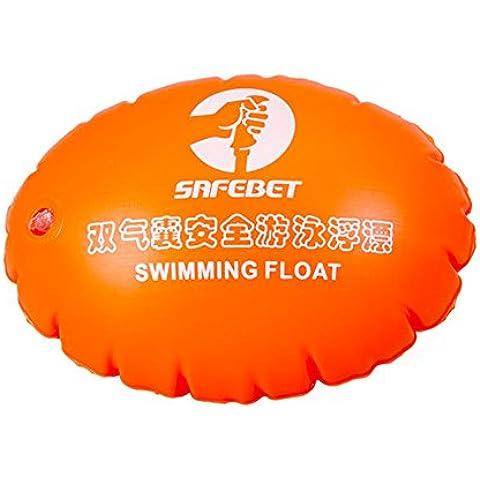 listen2u PVC galleggiante Airbag Piscina gonfiabile Aiuti doppio airbag Boa vita Boa sfera di sicurezza (Sistema Dual Corto)