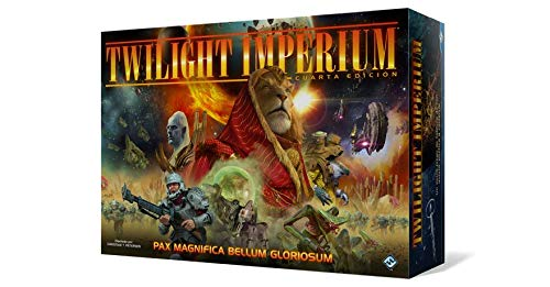 Fantasy Flight Games Twilight Imperium Cuarta Edición - Español Color (FFTI07